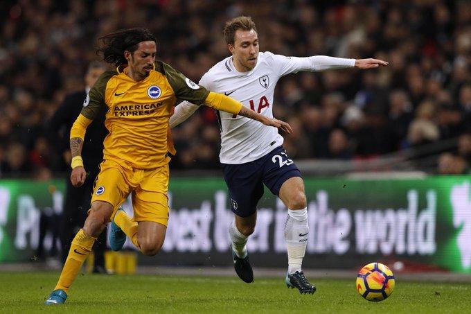 Prediksi Brighton & Hove Albion vs Tottenham Hotspur